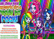 Equestria Girls Ready To Rock