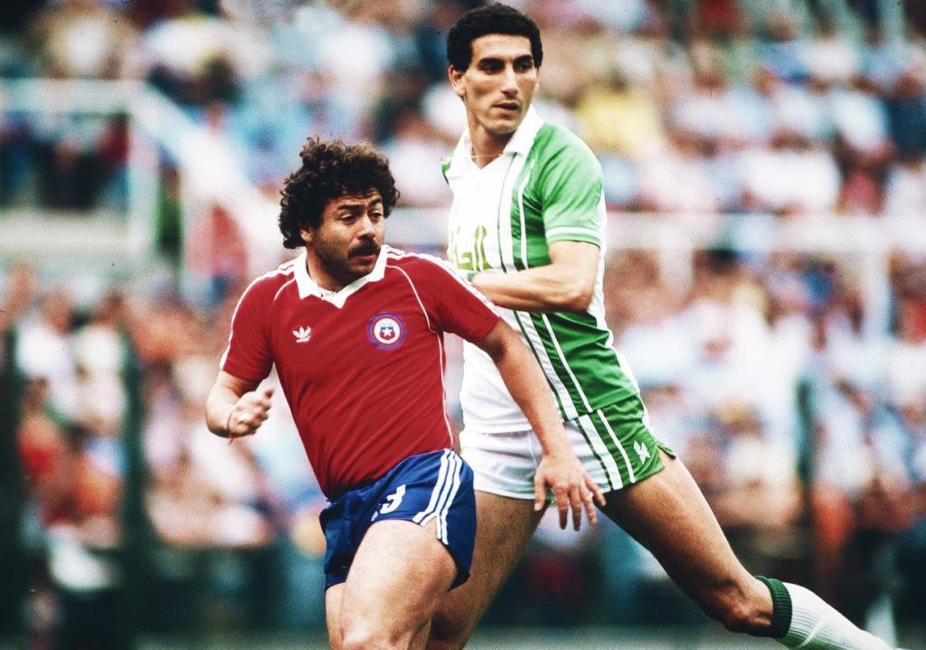 Argelia y Chile en Copa del Mundo España 1982, 24 de junio