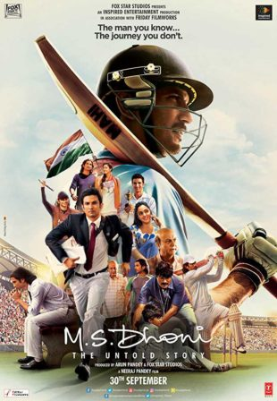 M.S. Dhoni: The Untold Story 2016 Full Hindi Movie Download 720p BRRip