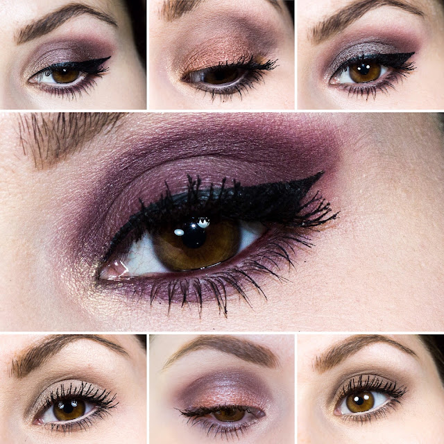 7 Looks mit der Goodnight Sweetheart Palette von Sleek