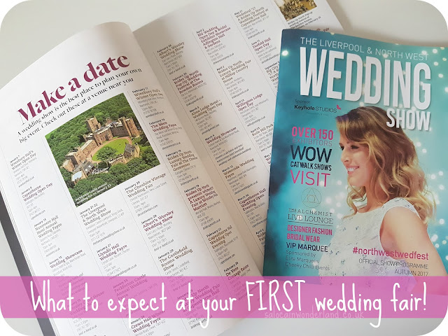 what to expect at a wedding fair