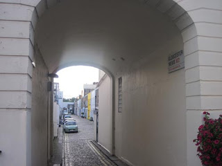 Entrance to Gloucester Mews.