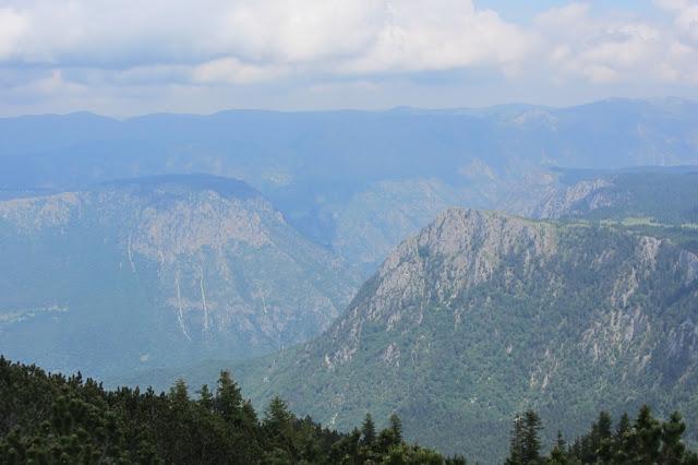 Montenegro, NP Durmitor, Tarakloof van bovenaf