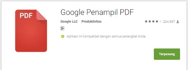 Cara Membuka File PDF di Google Chrome Android