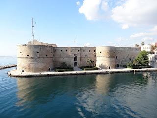 Taranto's Castello Aragonese, which stands guard over the canal linking the Mar Grande with the Mar Piccolo
