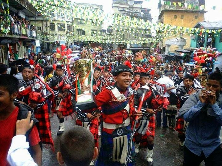 Independence Day celebration in kalimpong mela ground SUMI band