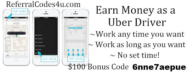Uber Driver Florida Invite Code, Uber Driver Florida Sign up Bonus, Florida Uber Driver Referral Code