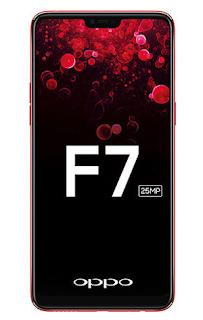OPPO F7 dengan layar sentuh seperti iPhone X yang siap diluncurkan di India pada 26 Maret