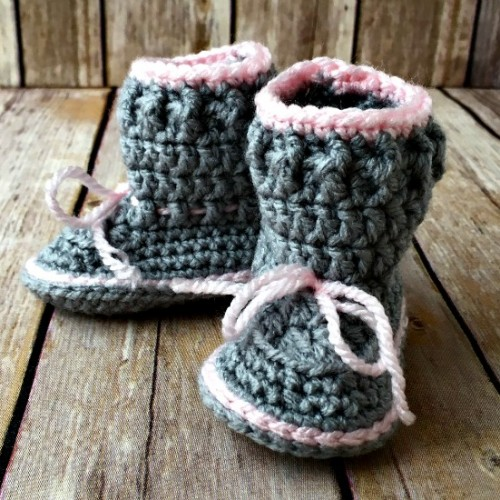 Spring Baby Boots - Free Pattern