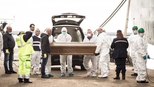 Italy Holds Funeral For 26 Nigerian Women That Drowned At Sea