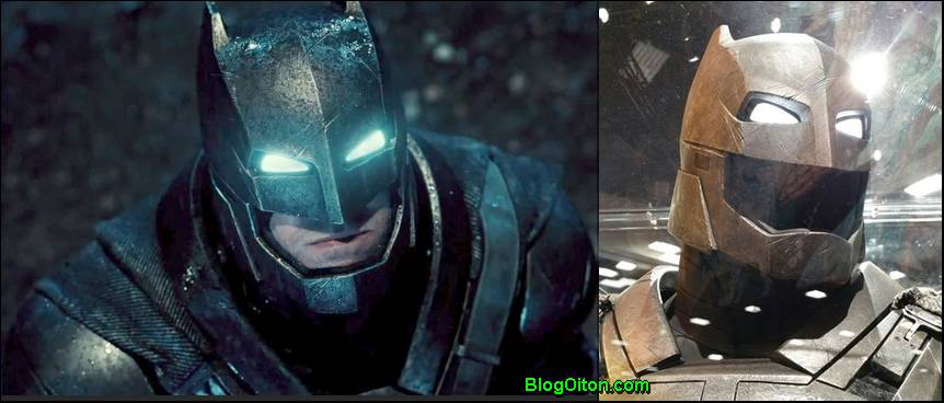 Fotos da armadura do Batman vs Superman
