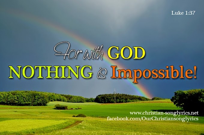 Nothing is Impossible by Planteshakers Video and Lyrics