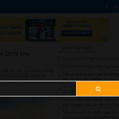 Hộp tìm kiếm popup cho blogspot không phụ thuộc jquery