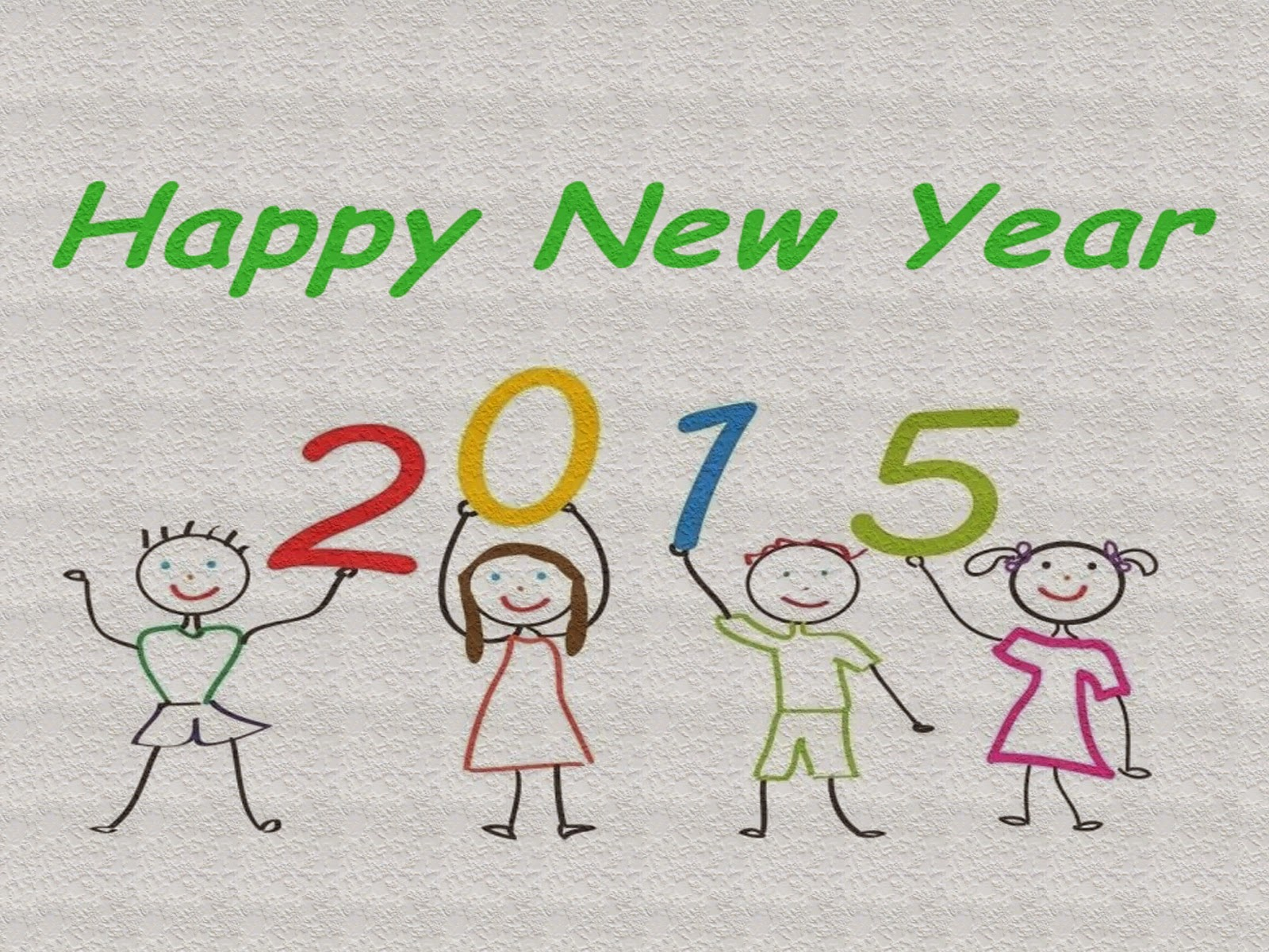 Kids Happy New Year 2015 Wallpapers