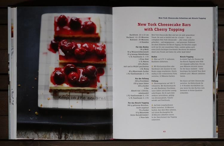 Rezension/Buchvorstellung Cynthia Barcomi - Cheesecakes, Pies & Tartes 2