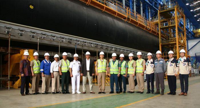 Kunjungan Kasal Korsel ke PT PAL tinjau pembangunan kapal selam