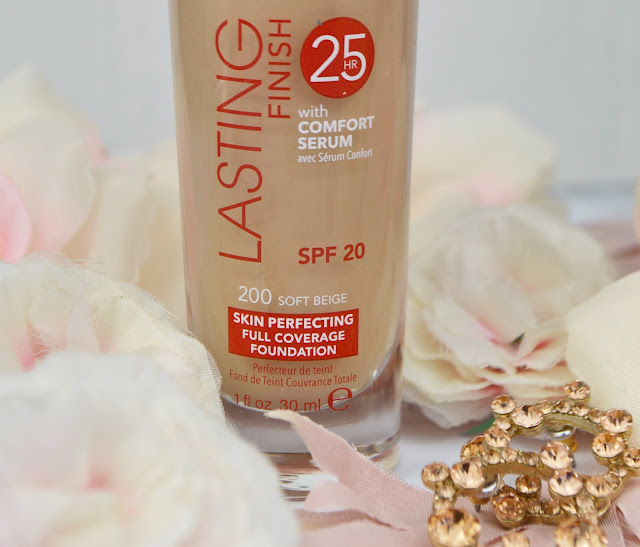 Rimmel Lasting Finish 25hr Foundation with Comfort Serum, Lovelaughslipstick Blog