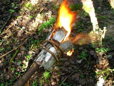 Факел из бересты