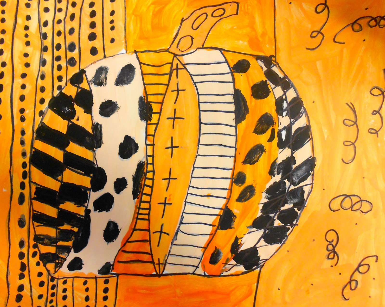 Art Eat Tie Dye Repeat 3rd Grade Pop Art Pumpkins
