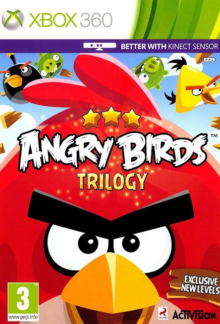 Angry Birds Trilogy - Xbox 360 - Portada