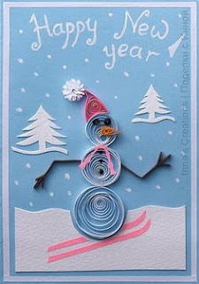 New Year Handmade Cards Pictures