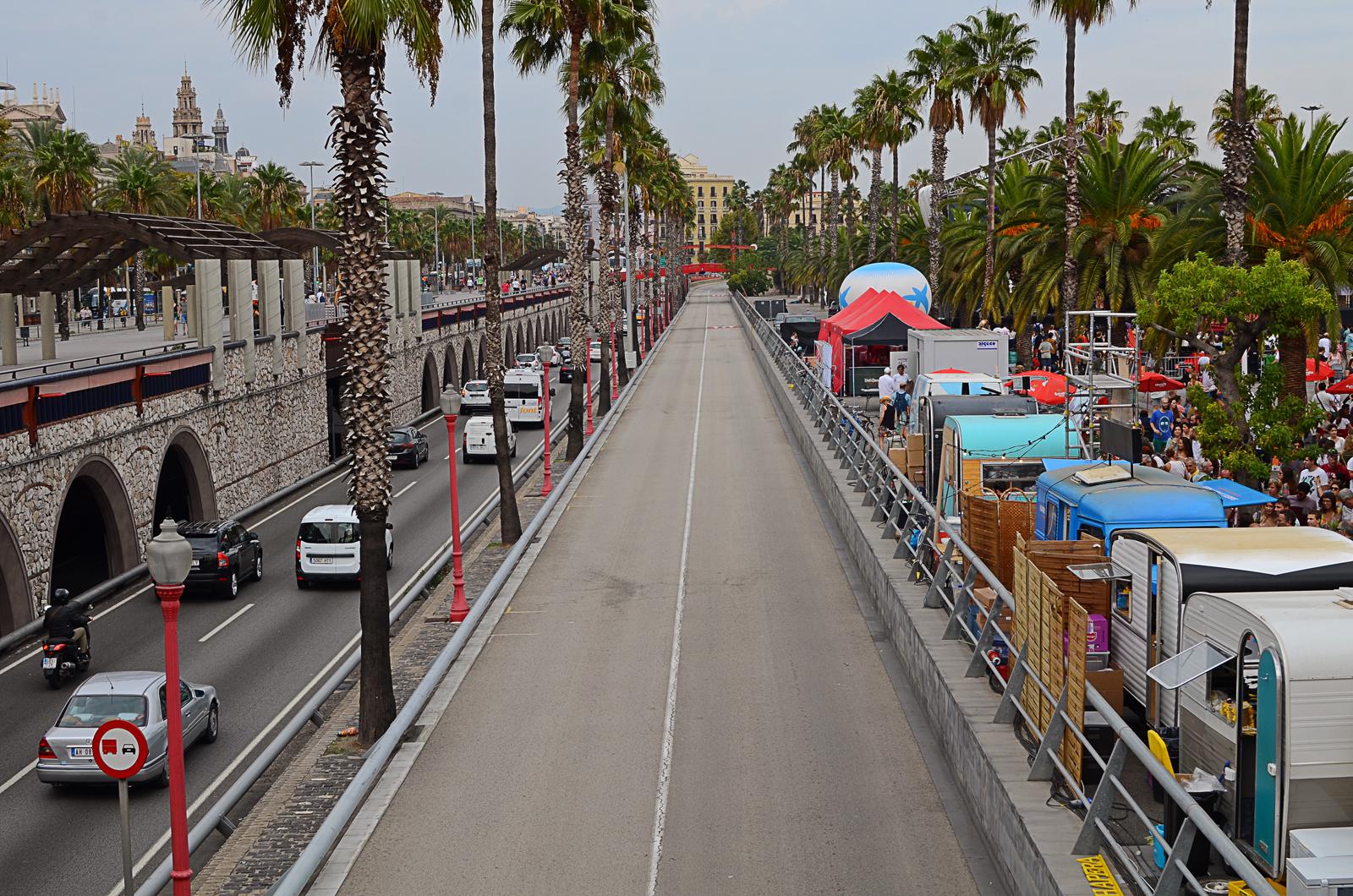 Moll de la Fusta, Barcelona