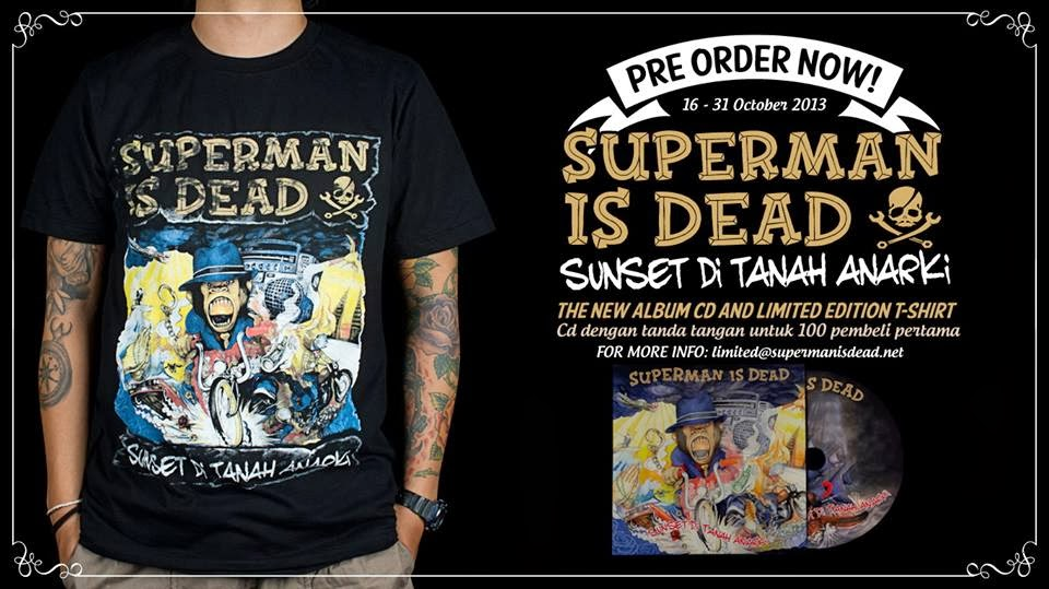 Lirik Lagu Sunset Di Tanah Anarki - Superman Is Dead