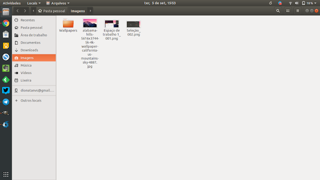Novo Layout do Ubuntu