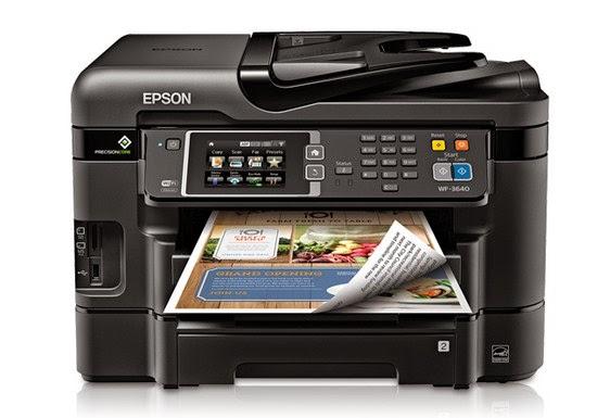 Epson Workforce WF-3640 Driver Download