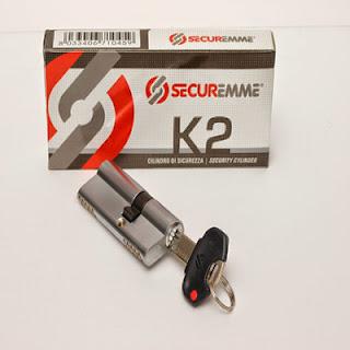 Κύλινδρος ασφαλείας Securemme K2