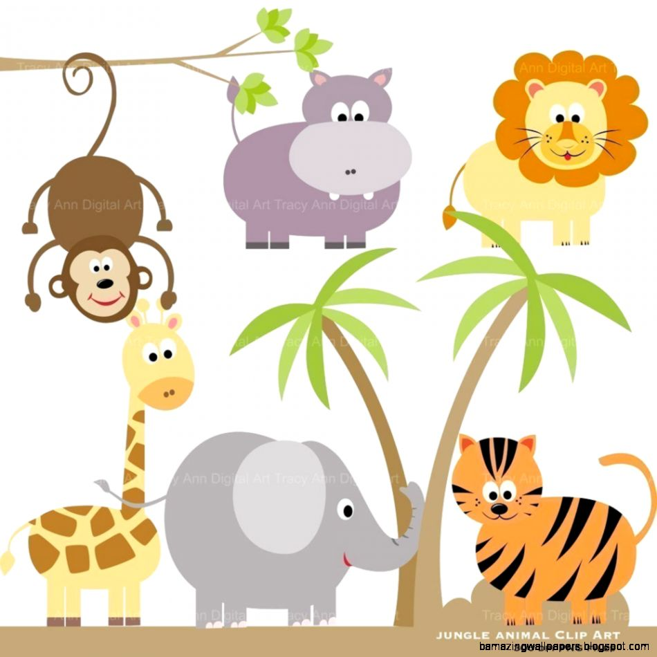 Cute Zoo Animals Drawings | Amazing Wallpapers