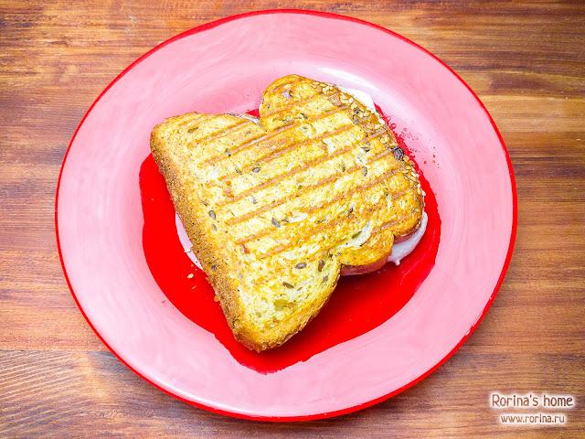 Бутерброды в мультипекаре Редмонд