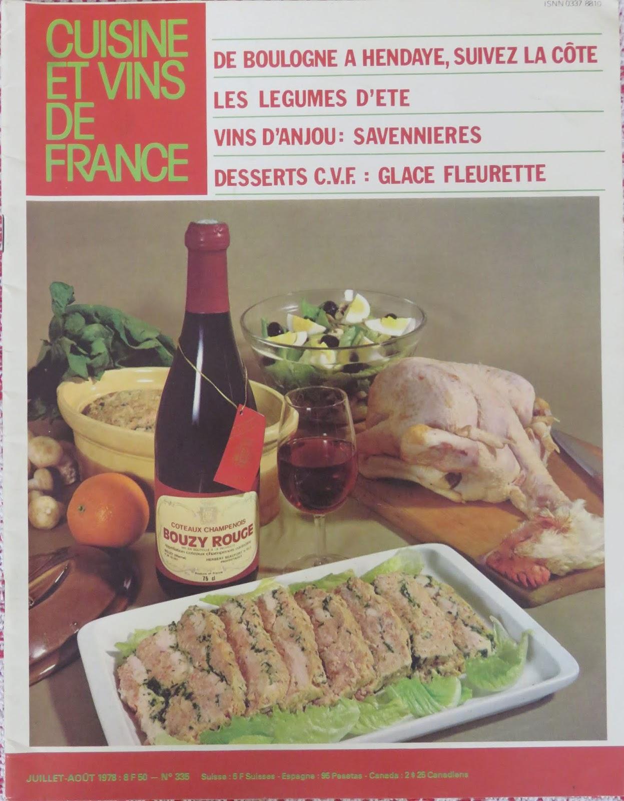 Mae S Food Blog Cuisine Et Vins De France A Classic French Cooking