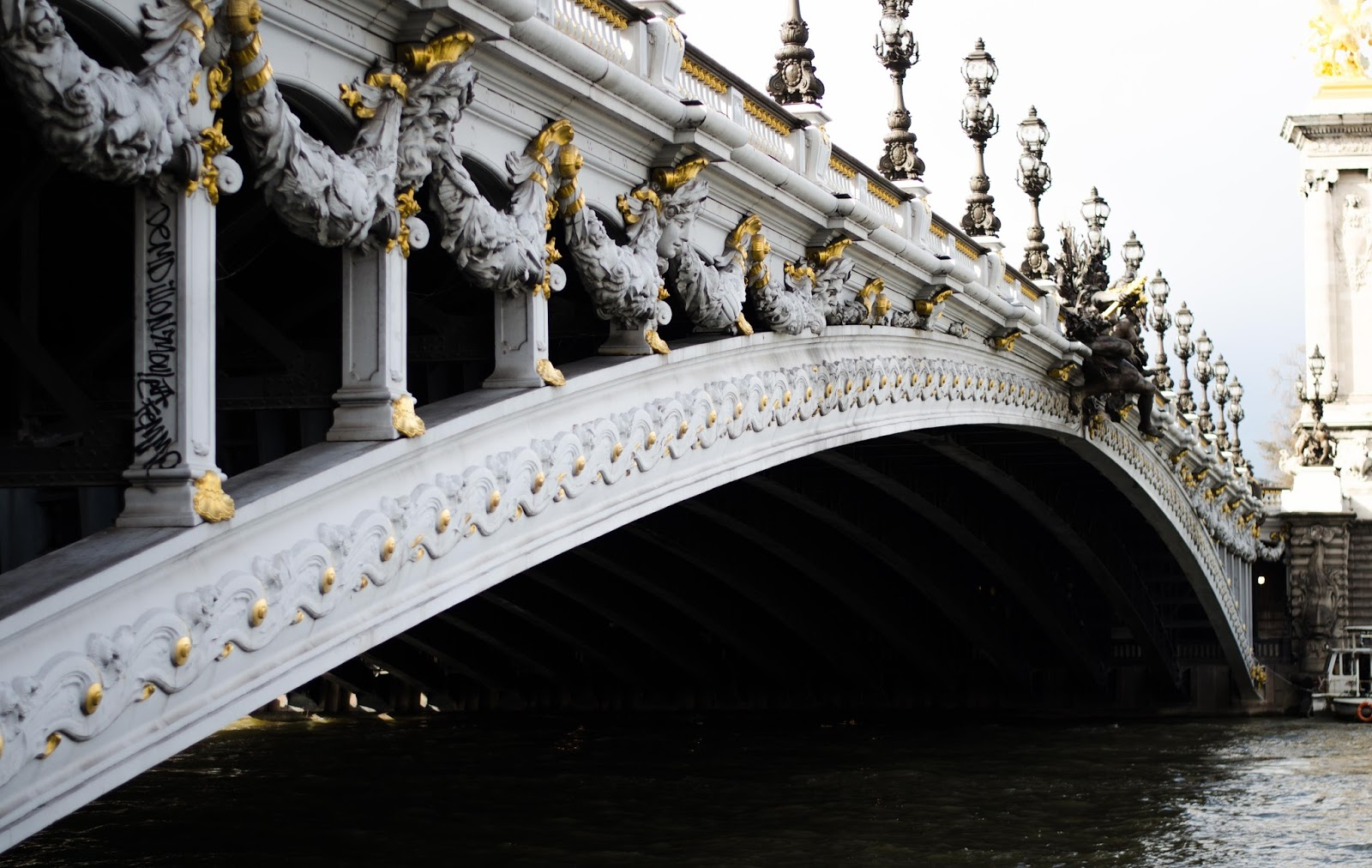 paris bridge pont alexandre iii
