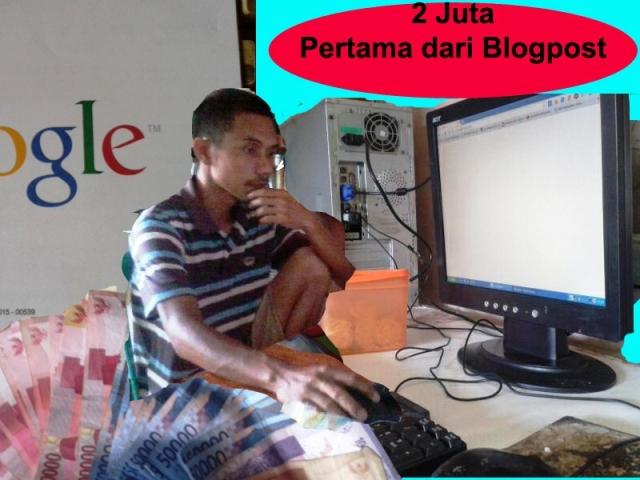 2 Juta Pertama dari Blogpost