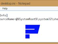 4 Langkah Mudah Mengatasi file desktop.ini Yang Muncul Saat Startup Windows 8.1 Enterprise (untuk Windows 7 Sama Saja)
