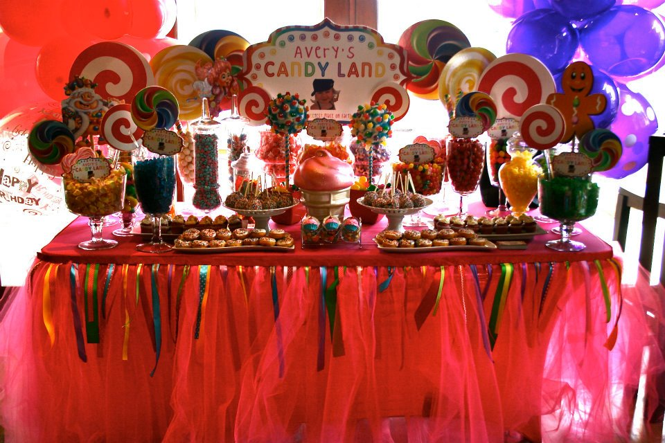 Candy Land, Wonka & Sweet Themed Parties & Decor Are Our