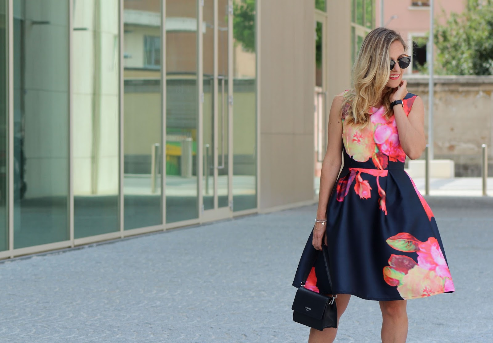 Eniwhere Fashion - Floral dress - SheIn