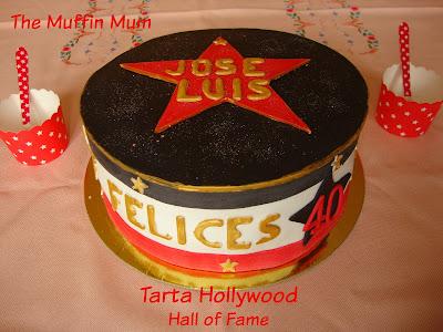 Tarta Hollywood Hall of Fame