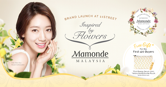 Mamonde's E-Store Launch on 11Street