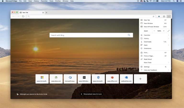 Sekarang Kamu Bisa Download Dan Instal Microsoft Edge Di Perangkat MacOS
