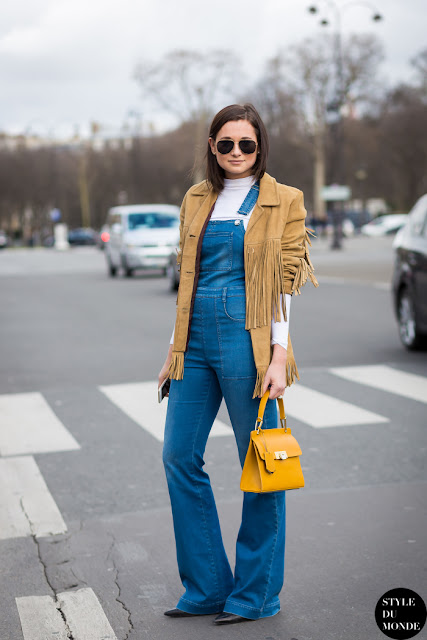 Suede street style
