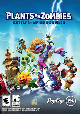 Plants Vs Zombies Battle For Neighborville Game Cover Pc