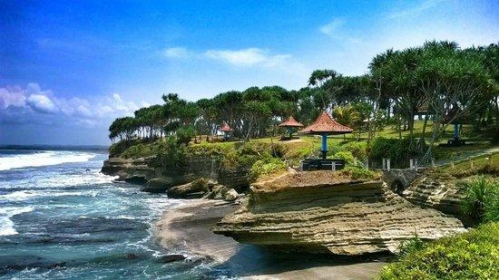 Batu Hiu Pangandaran Beach