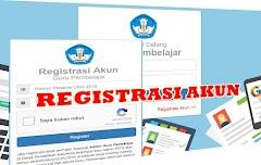 Cara Buat Akun Guru Pembelajar Pada Registrasi