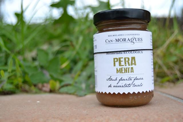 melmelada de pera amb Menta de Can Moragues