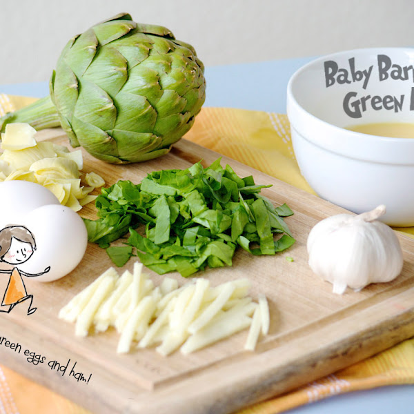 Baby Barnaby's Green Eggs