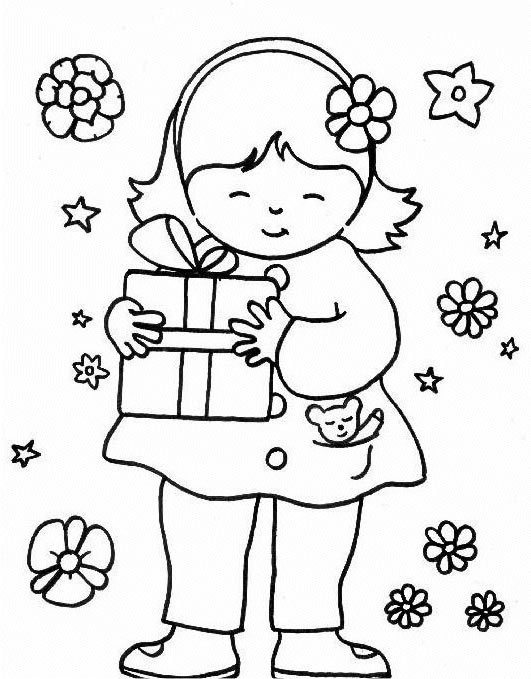 k coloring pages for kids - photo #33