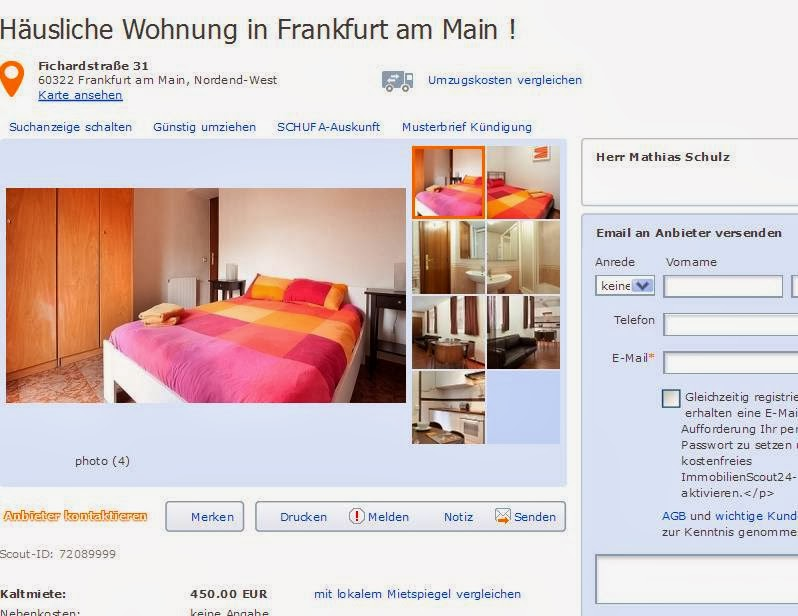 wohnungsbetrugblogspotcom robertmehler3hotmailcom alias Herr Leipzig Robert Mehler