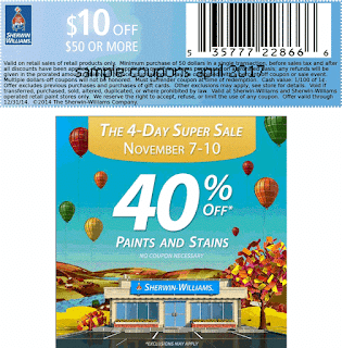 free Sherwin Williams coupons for april 2017